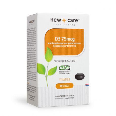 Vitamine D3 75mcg New Care