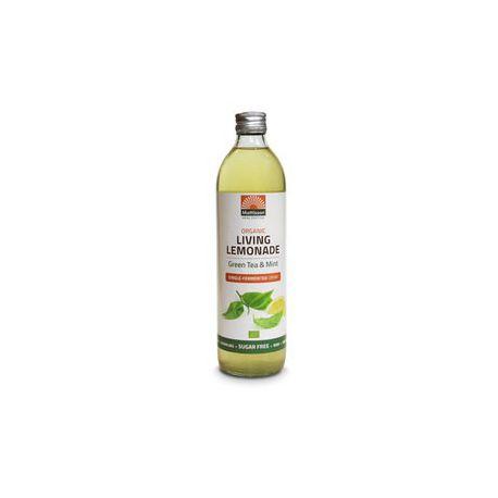 Living Lemonade Green & Tea Mint Single-Fermented drink Bio Mattisson