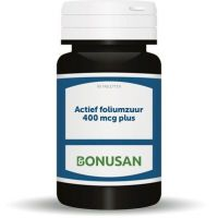 Actief foliumzuur 400 mcg plus Bonusan