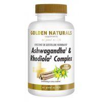 Ashwaganda & Rhodiola Complex Golden Naturals