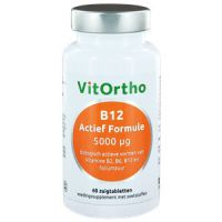 B12 Actief Formule 5000 µg Vitortho