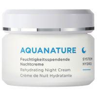 Aquanature hydraterende nachtcreme Annemarie Borlind