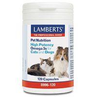 Omega 3 voor dieren hond en kat Lamberts