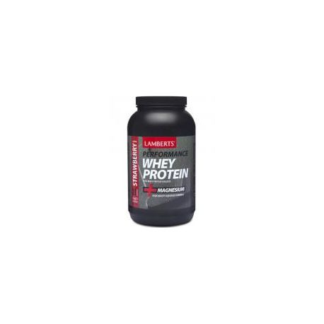 Performance Whey Proteïne Aardbei Lamberts