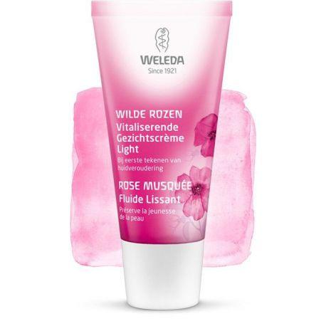 Wilde Rozen Vitaliserende Gezichtscrème Light Weleda