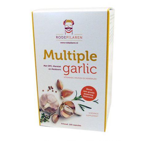 Multiple Garlic Rode Pilaren
