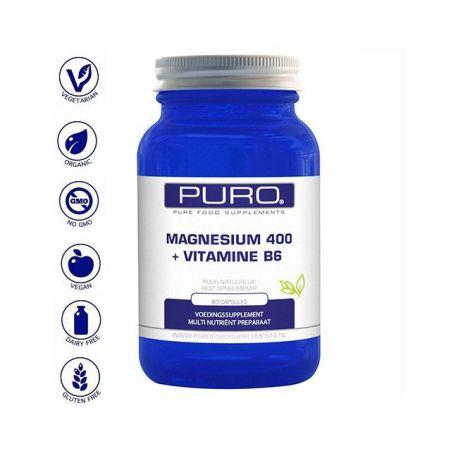 Magnesium 400 +B6 Puro