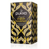Elegant English Breakfast thee Pukka