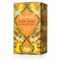 Lemon, Ginger & Manuka Honey thee Pukka