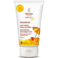 Edelweiss Zonnelotion Gevoelige Huid SPF30 Weleda
