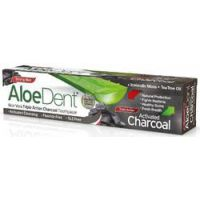 Aloe Vera Triple Action Charcoal Tandpasta AloeDent
