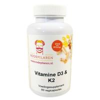 Vitamine D3 & K2 Rode Pilaren