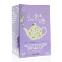 Decaffeinated breakfast English Tea Shop