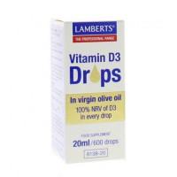 Vitamine D3 druppels Lamberts