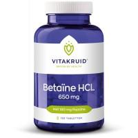 Betaïne HCL 650 mg Vitakruid