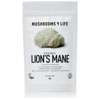 Lion's Mane Paddenstoelen Poeder Bio Mushrooms 4 Life