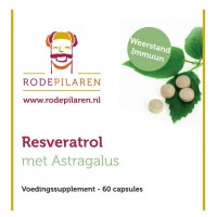 Resveratrol met Astragalus Rode Pilaren