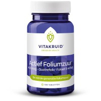 Actief Foliumzuur 400 mcg Vitakruid