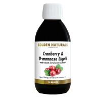 Cranberry & D-mannose Liquid+ Golden Naturals