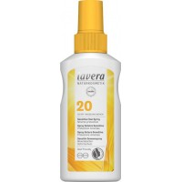 Zonnebrand sensitive sun spray SPF20 Lavera