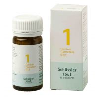 Nr. 1 Calcium fluoratum D12 Schüsslerzout Pflüger