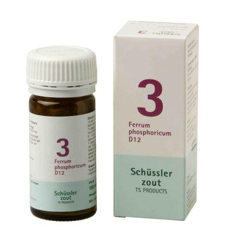 Nr. 3 Ferrum phosphoricum D12 Schüsslerzout Pflüger