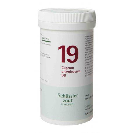 Nr. 19 Cuprum arsenicosum D6 Schüsslerzout Pflüger