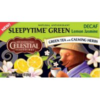 Groene Thee Sleepytime Decaf Lemon Jasmine Celestial Seasonings