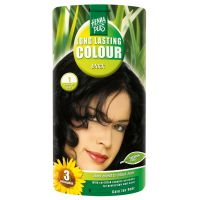 Black 1 Long Lasting Colour Henna Plus