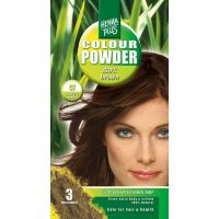 Dark brown 57 Colour Powder Henna Plus