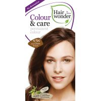 Chocolate brown 5.35 Colour & Care Hairwonder