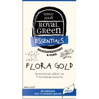 Flora Gold Royal Green