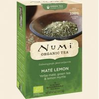 Mate Lemon Green Tea Rainforest Green Numi