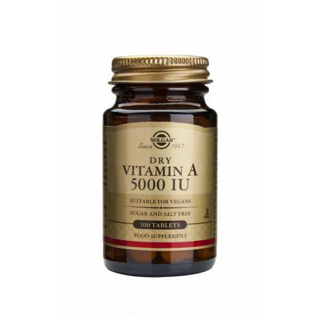 Vitamin A 5000 IU (1502 µg) Solgar