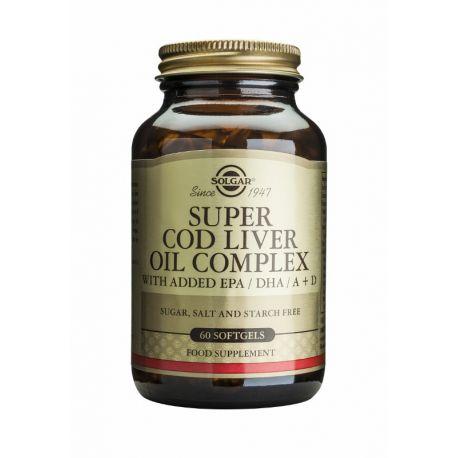 Super Cod Liver Oil Complex Solgar
