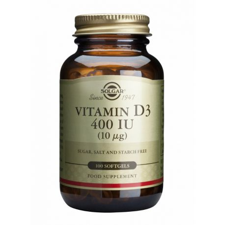 Vitamin D-3 10 µg/400 IU Solgar