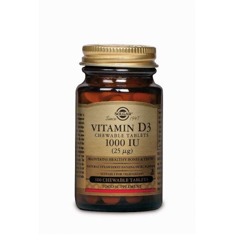 Vitamin D-3 25 µg/1000 IU Kauwtablet