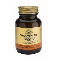 Vitamin D-3 25 µg/1000 IU tablet Solgar