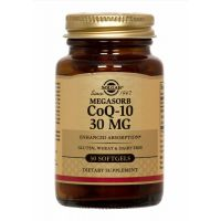 Co-Enzyme Q-10 30 mg Softgels Solgar