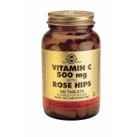 Vitamin C with Rose Hips 500 mg Solgar