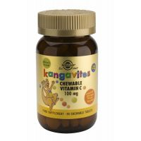 Kangavites Chewable Vitamin C 100 mg Solgar
