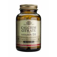 Calcium Citrate with Vitamin D-3 Solgar