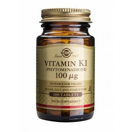 Vitamin K-1 100 µg Solgar