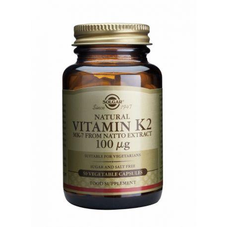 Vitamin K-2 100 µg Solgar