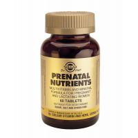 Prenatal Nutrients Solgar