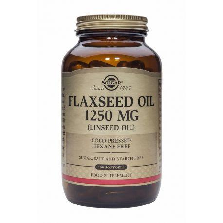 Flaxseed Oil 1250 mg Solgar